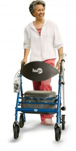 Hugo® Wave Premium Rollator lifestyle picture