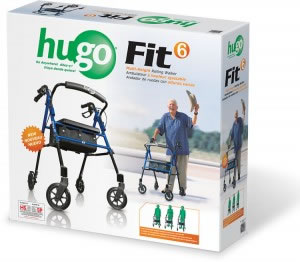 Hugo® Fit 6 Rollator Retail Box