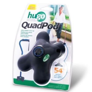 Hugo® QuadPod Ultra Stable Cane Tip