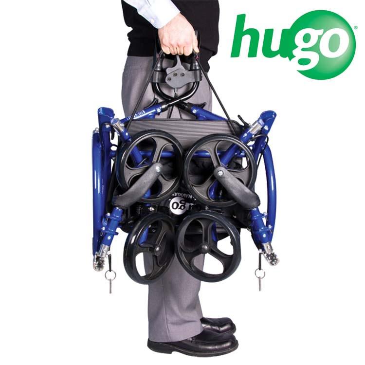 Folded Hugo® Navigator  sc 1 st  Hugo & Hugo® Navigator Combination Rollator and Transport Chair u2013 Hugo®