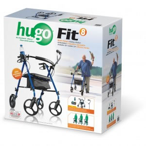 Hugo® Fit 8 Rollator Retail Box
