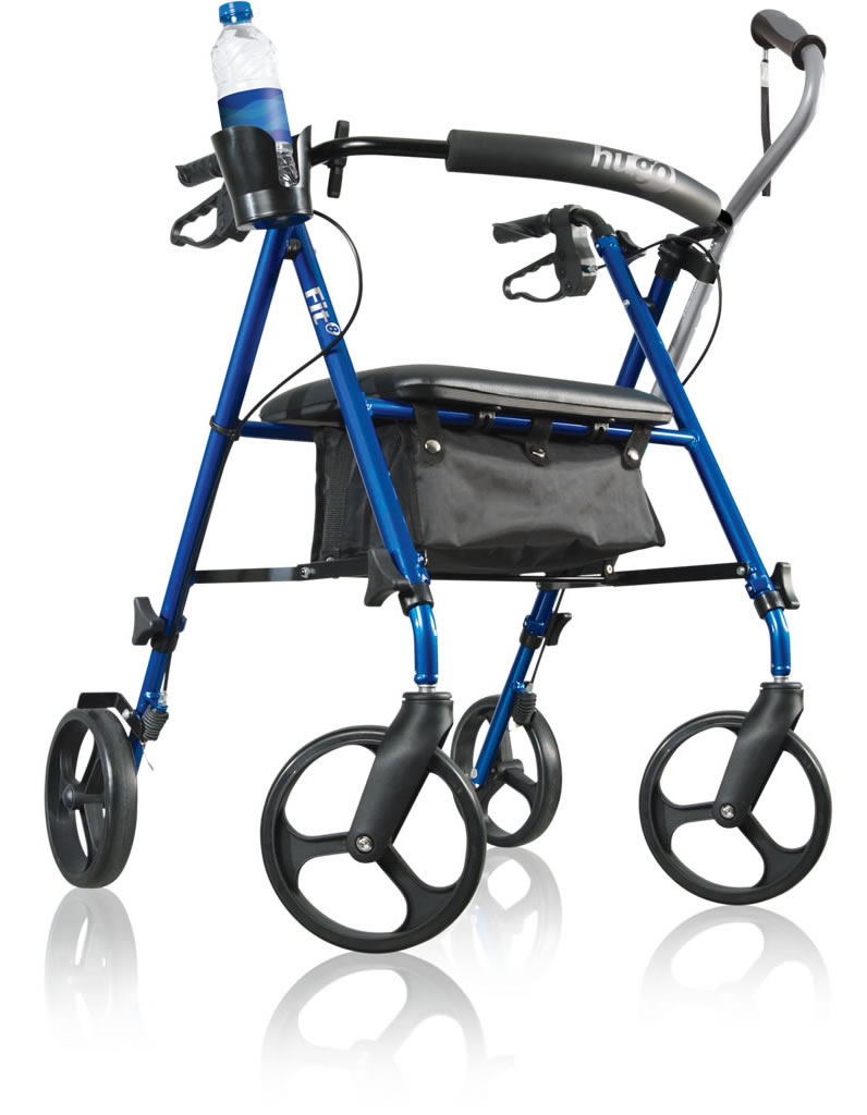 hugo elite rolling walker manual