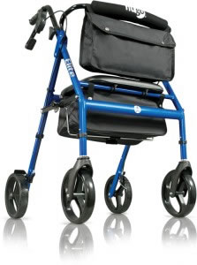 Hugo® Elite Rollator, Pacific Blue