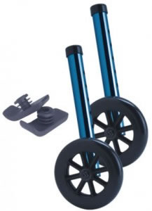 "Bonus Pack Includes 5"" Walker Wheels & Glides. Allows the walker to glide easily over most surfaces."