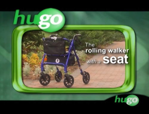 Hugo® Elite – Rolling Walker with a seat – video