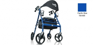 Hugo® Wave Fully-Equipped Premium Rollator