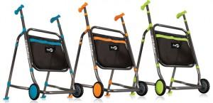 Hugo Euro Walker, Titanium Blue, Titanium Orange and Titanium Green