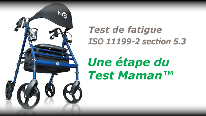 Le Test Maman™ pour ambulateur Hugo®