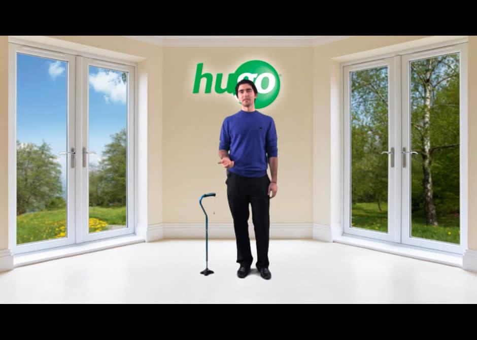 How to adjust your Hugo® Cane