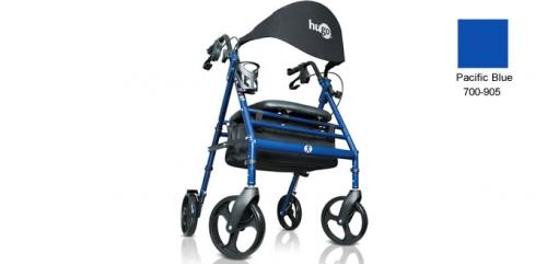 Hugo® Wave Fully-Equipped Premium Rollator