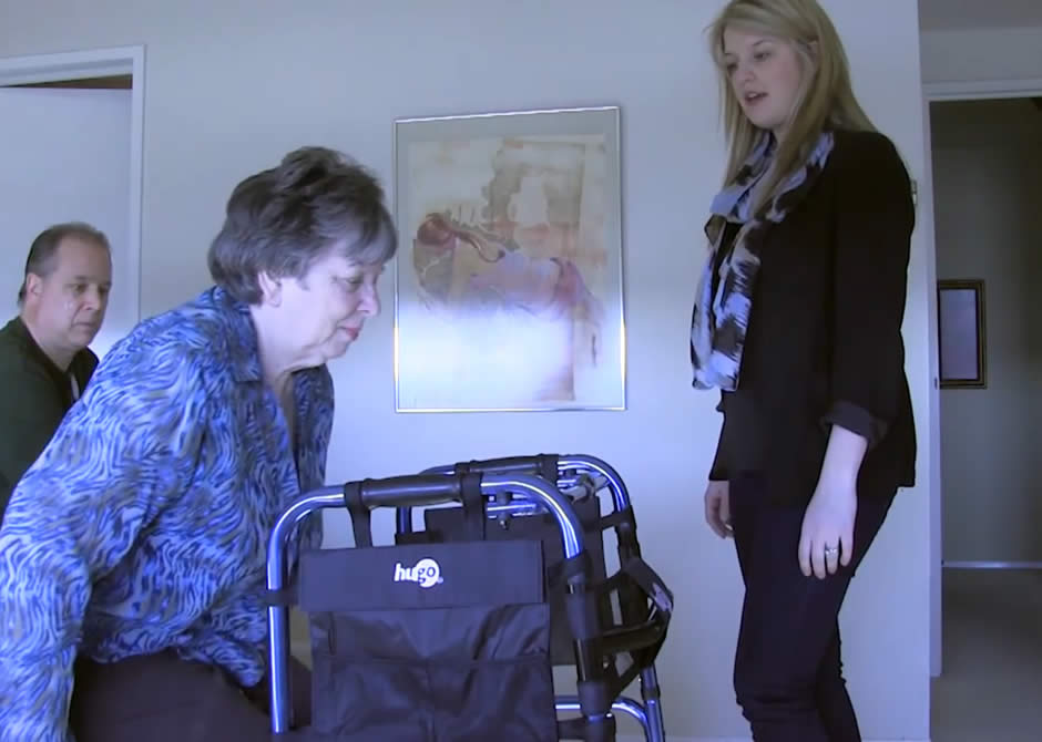 Occupational Therapist Home Visit – Video